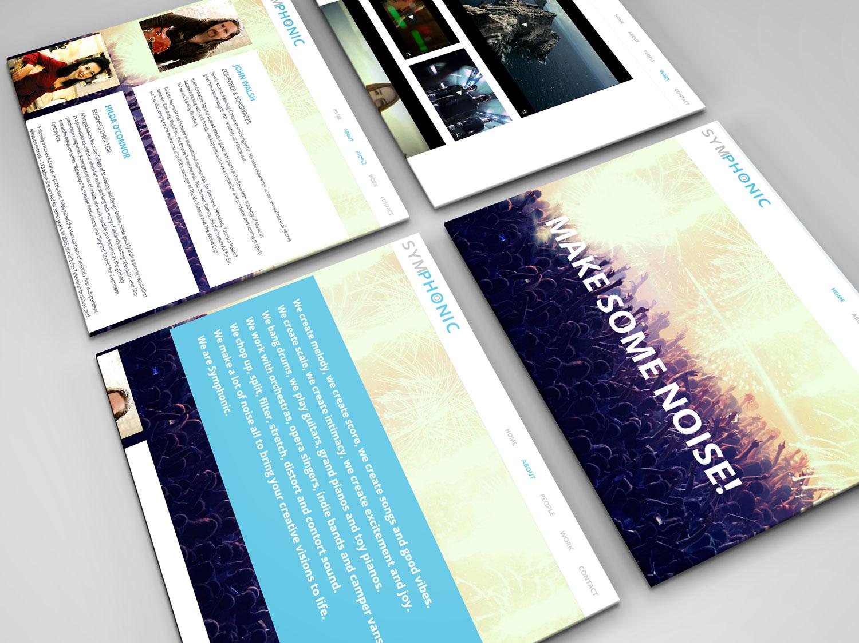 Symphonic-webpages