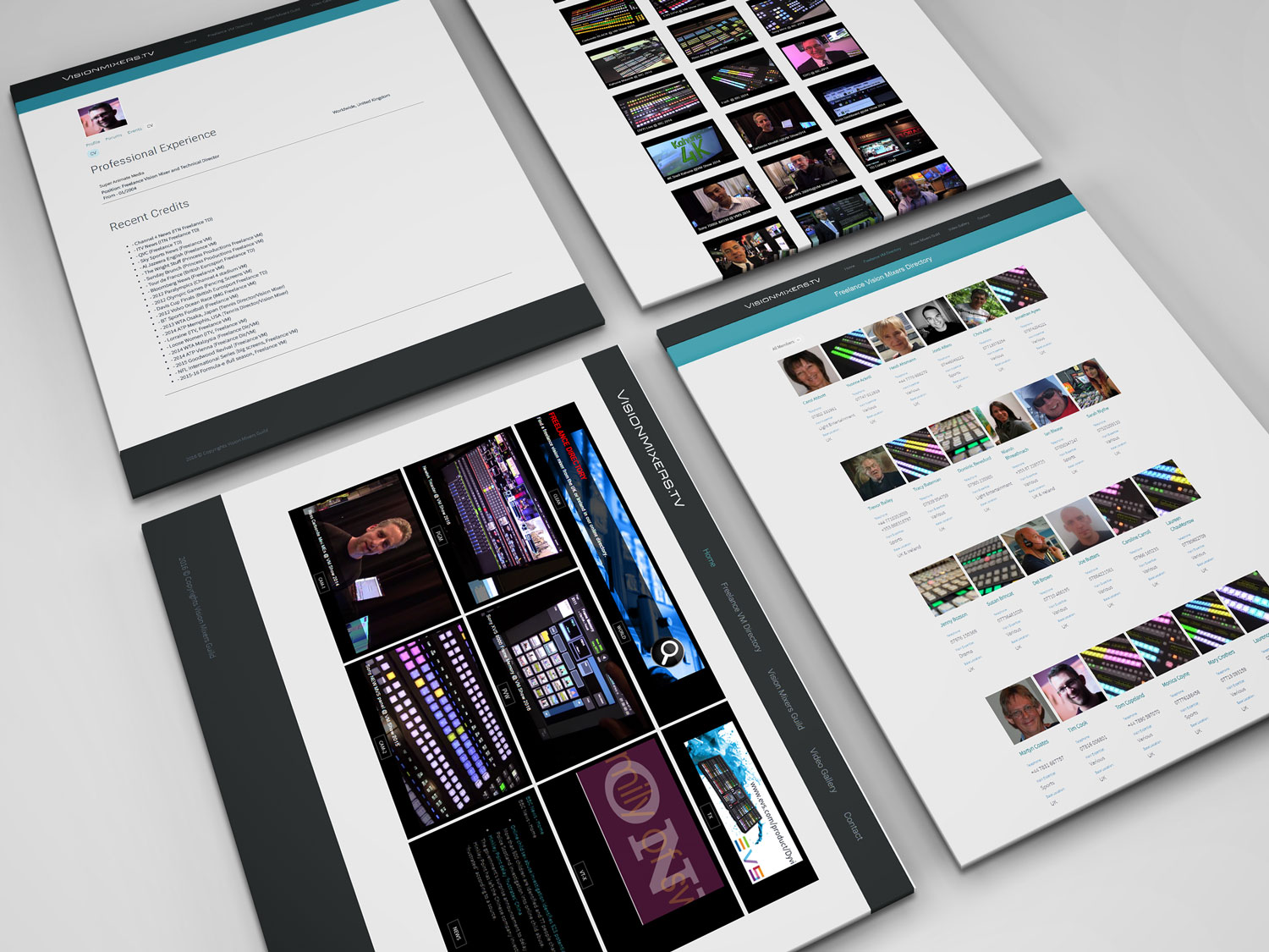 Visionmixers-webpages